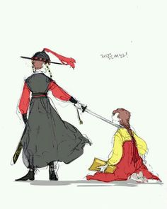 Joseon AU Gravity Falls