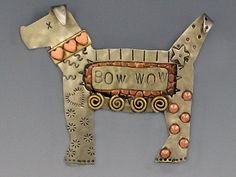 RiverPath Bow Wow Dog Pin