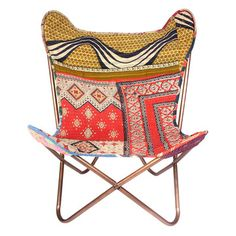 Superieur Butterfly Vintage Kantha Chair, 145u20ac, Now Featured On Fab.