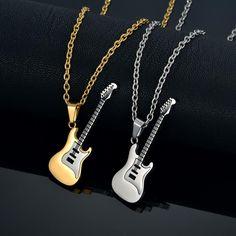Avid Strat Guitar Necklace