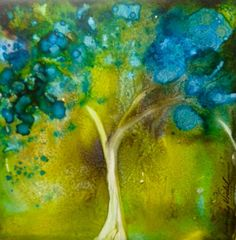 Painting with Alcohol Inks
