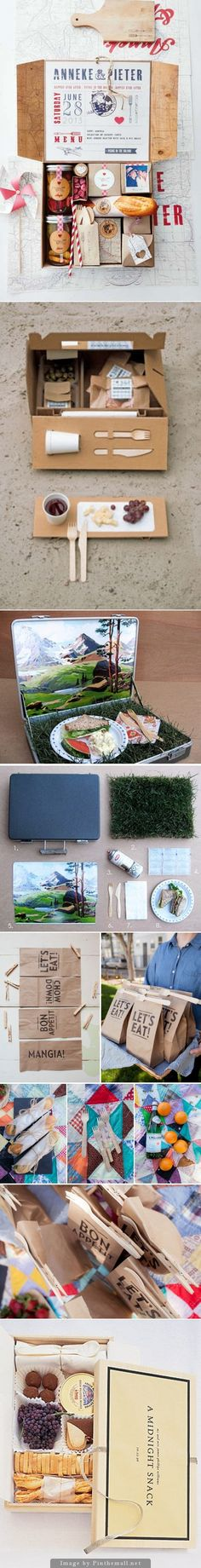 Celebrate National Picnic Day. Lets go on a picnic packaging curated via Packaging Diva PD from my Pinterest boards created via http://pinterest.com/packagingdiva