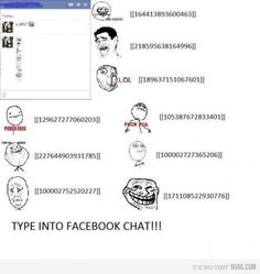 facebook chat cheats
