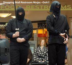 Real Ninjas don't sh