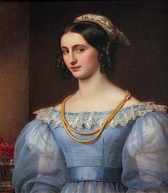 1829 Regina Daxenberger by Joseph Karl Stieler (Schönheitengallerie Schloß Nymphenburg, München Germany)