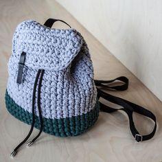 Custom Crochet Backpack by KnitKnotKiev on Etsy