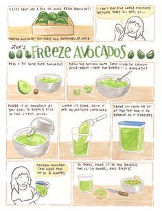 Freezing Avocados (or Guacamole Anytime!)