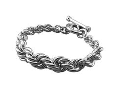 BT1612 rope twist sterling silver bracelet http://www.tianguis.co.uk/shop/index.php/sterling-silver-wristwear/bt1612-rope-twist-sterling-silver-bracelet.html