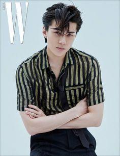 Chanyeol & Sehun EXO untuk majalah 'W Korea' edisi Juli 2019 Exo Chanyeol, Kyungsoo, Exo Ot12, Hunhan, K Pop, Solo Album, W Korea, Kim Minseok, Xiu Min