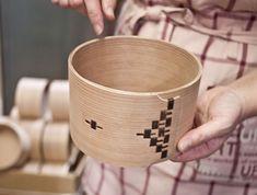 How is a Magewappa bento box crafted? Great bento box makers: Shibata Yoshinobu Shoten in Odate, Akita, Japan