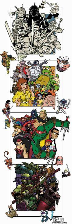 Awesome Tmnt Tattoos for Men Ninja Turtles 2, Teenage Mutant Ninja Turtles, Tmnt 2012, Tmnt Comics, Pokemon, Nerd, Fandom, Fan Art, Graphics