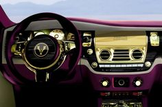 Rolls Royce Fenice-Milano-Purple-gold-Interior (3)