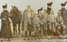 Royal Family - Sandrinham Pheasant Shoot 1909