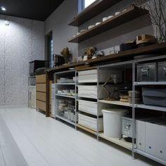 無印良品のシェルフでキッチン収納をチェンジ|LIMIA (リミア)