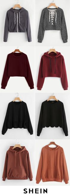 Plain sweatshirts