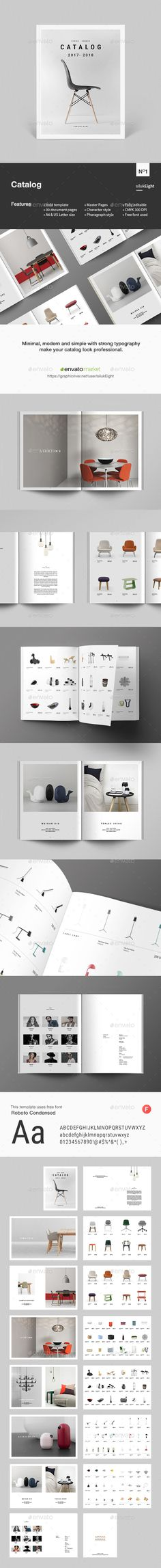 Product Catalog — InDesign INDD #agency #products catalog • Download ➝ https://graphicriver.net/item/product-catalog/19987835?ref=pxcr