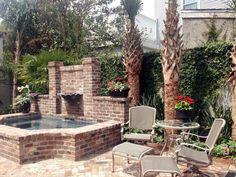 New Orleans Garden Design new orleans style courtyard garden rachal rachal rachal astilbes Ponseti Landscaping Old Metairie Lakeview Uptown New Orleans Garden Design And Maintenance
