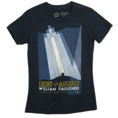 Light in August book cover women's t-shirt | Outofprintclothing.com | Sale: $16