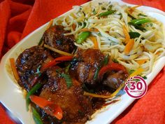Chinese bami met ketjap kip speciaal
