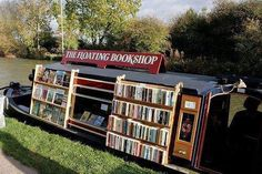 The floating bookshop