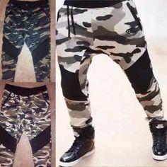 monos jogger  harem camuflados moda unisex