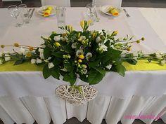 Letná citrusová výzdoba/ Summer wedding decoration with lime and lemon