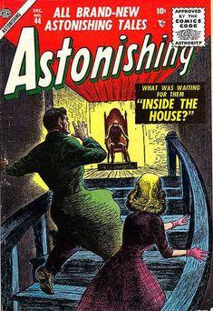 Cover for Astonishing (Marvel, 1951 series) #44