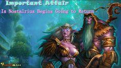Important Affair: Is Nostalrius Begins Going to Return