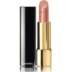 CHANEL ROUGE ALLURE Luminous Satin Lip Colour (2.505 RUB) ❤ liked on Polyvore featuring beauty products, makeup, lip makeup, lipstick, black lips makeup, lips makeup, chanel, satin lipstick and black lipstick