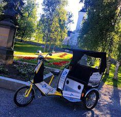 Asiakastarina: Bike Taxi -kesän positiivisin ilmiö