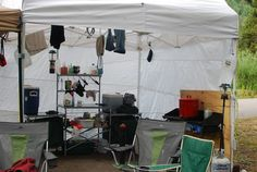 Camp kitchen - ours looks a little like this.