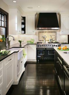b + w kitchen...WOW