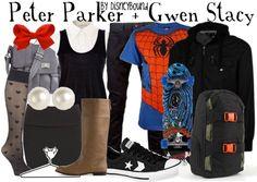 Disney Bound; Superhero Fashion; Peter Parker and Gwen Stacy