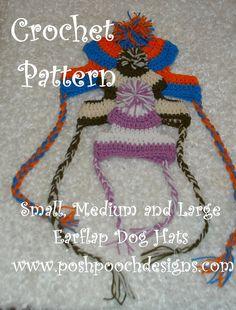 Posh Pooch Designs Dog Clothes: Big Dogs Crochet Patterns