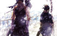 Naruto Shippuden, Zabuza and Haku Wallpaper