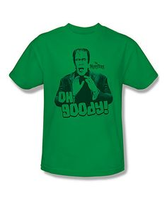 Look what I found on #zulily! Kelly Green 'Oh Goody!' Tee - Adult #zulilyfinds