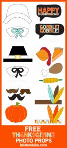Here's a fun Thanksgiving activity! A Thanksgiving themed photo booth with props! Free Thanksgiving Printables, Thanksgiving Preschool, Thanksgiving Parties, Thanksgiving Decorations, Free Printables, Thanksgiving Pictures, Family Thanksgiving, Thanksgiving Projects, Holiday Pictures