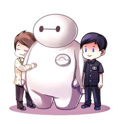 AWWWW they had a tiny part in Big Hero 6!!! <<< But it was only in the UK release I'm so mad!