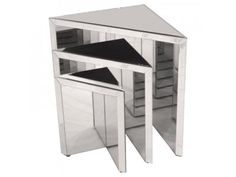 Febland Prism Nest of Mirrored Tables £258.00