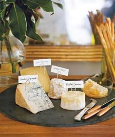 Plan a wine and cheese party