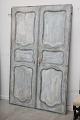 french painted doors
