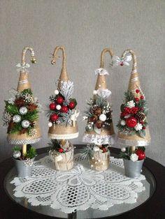 me ~ Santa Hat Door Hanger, Santa Hat Wreath, Christmas decor, Christmas Diy Christmas Decorations Easy, Christmas Projects, Diy And Crafts, Christmas Crafts, Crafts For Kids, Holiday Decor, Mini Christmas Tree, Rustic Christmas, Christmas Wreaths