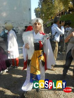 Sesshomaru Cosplay from Inuyasha at LUCCA COMICS AND GAMES