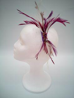 www.monauri.com  Peina Monauri pluma Oca burdeos