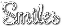 Frantic Stamper - Dies - Smiles