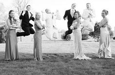 Fun Prom picture idea but could do it for a wedding to! Maybe parents standing a… Fun Prom picture idea but could do it for a wedding to! Maybe parents standing and kids jumping Prom Picture Poses, Prom Poses, Picture Ideas, Photo Ideas, Dance Pictures, Wedding Pictures, Wedding Ideas, Funny Prom, Prom Photography