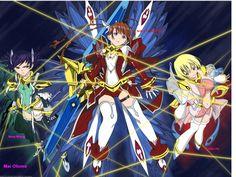 Beautiful anime wallpaper from Mai-Otome uploaded by - arika erstin nina Mai Hime, Magical Girl, Anime Art, Cartoon, Twitter Headers, Fictional Characters, Emperor, Dragon, Wallpapers