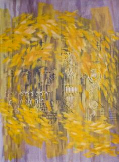 "Saatchi Art Artist: Michael Molly; Oil 1998 Painting ""Yellow Swirl"""