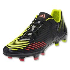 Click Image Above To Purchase: Adidas Predator Lz Trx Fg Sl - Micoach Compatible - Black/electricity/infrared 9 Top Soccer, Soccer Cleats, Football Soccer, Trx, Adidas Predator Lz, World Soccer Shop, Soccer Store, What I Wore, Shopping