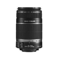 Canon EF-S 55-250mm f/4-5.6 IS Image Stabilizer Telephoto Zoom Lens - Grey Market non US Product $208